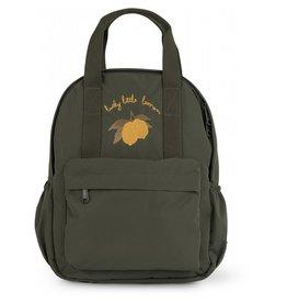 Konges Slojd Konges Slojd - Loma Kids Backpack - Mini Moss Grey