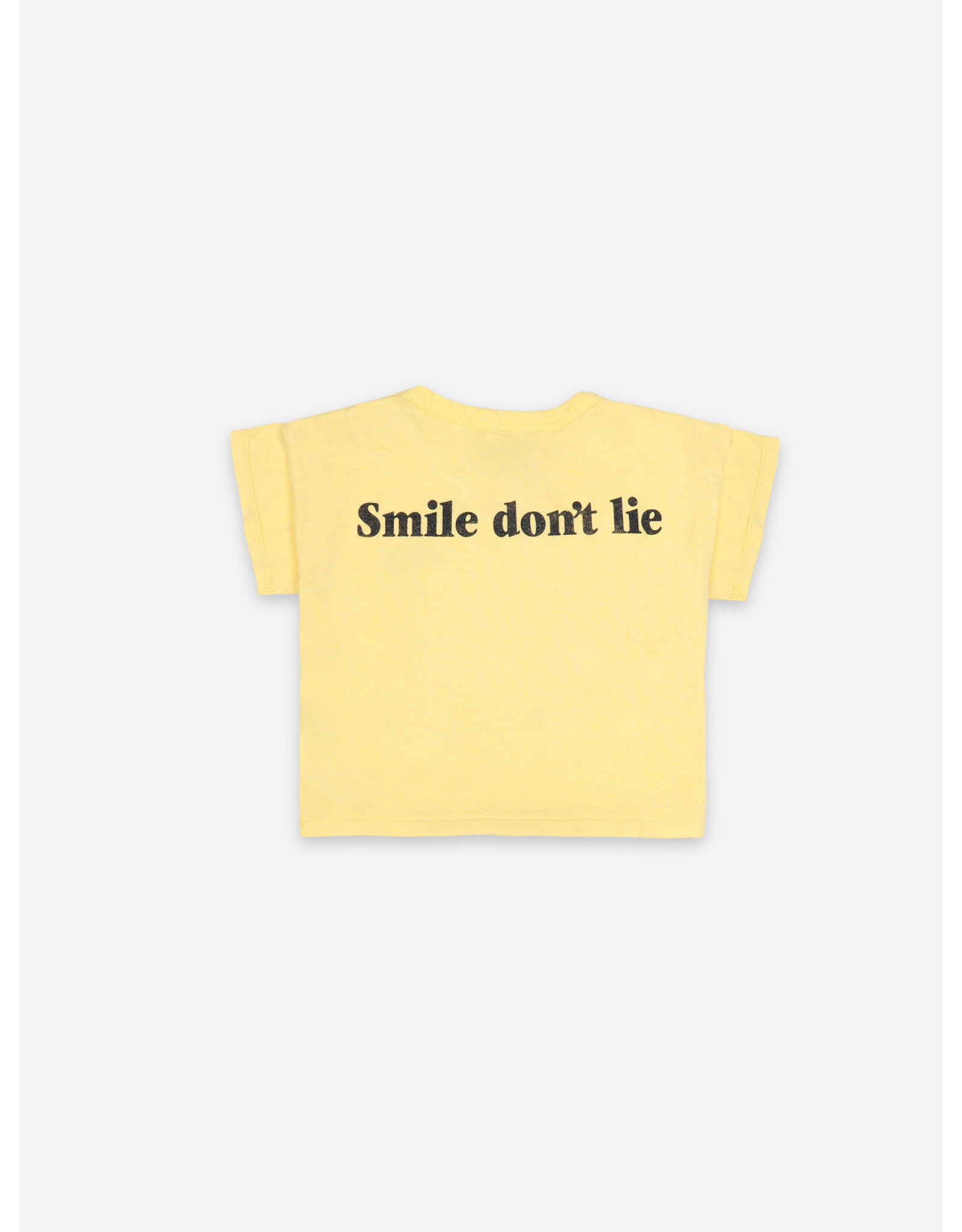Bobo Choses Bobo Choses Big Smile Short Sleeve T-Shirt