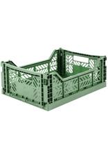 Ay-Kasa Aykasa Box - Midi - Almond Green