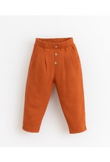 Play Up Play Up Trousers with decorative buttons | Botany Anise