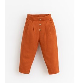 Play Up Play Up Trousers with decorative buttons   Botany Anise