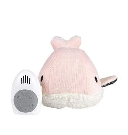 Flow Flow Heartbeat Comforter - Moby the Whale - Pink