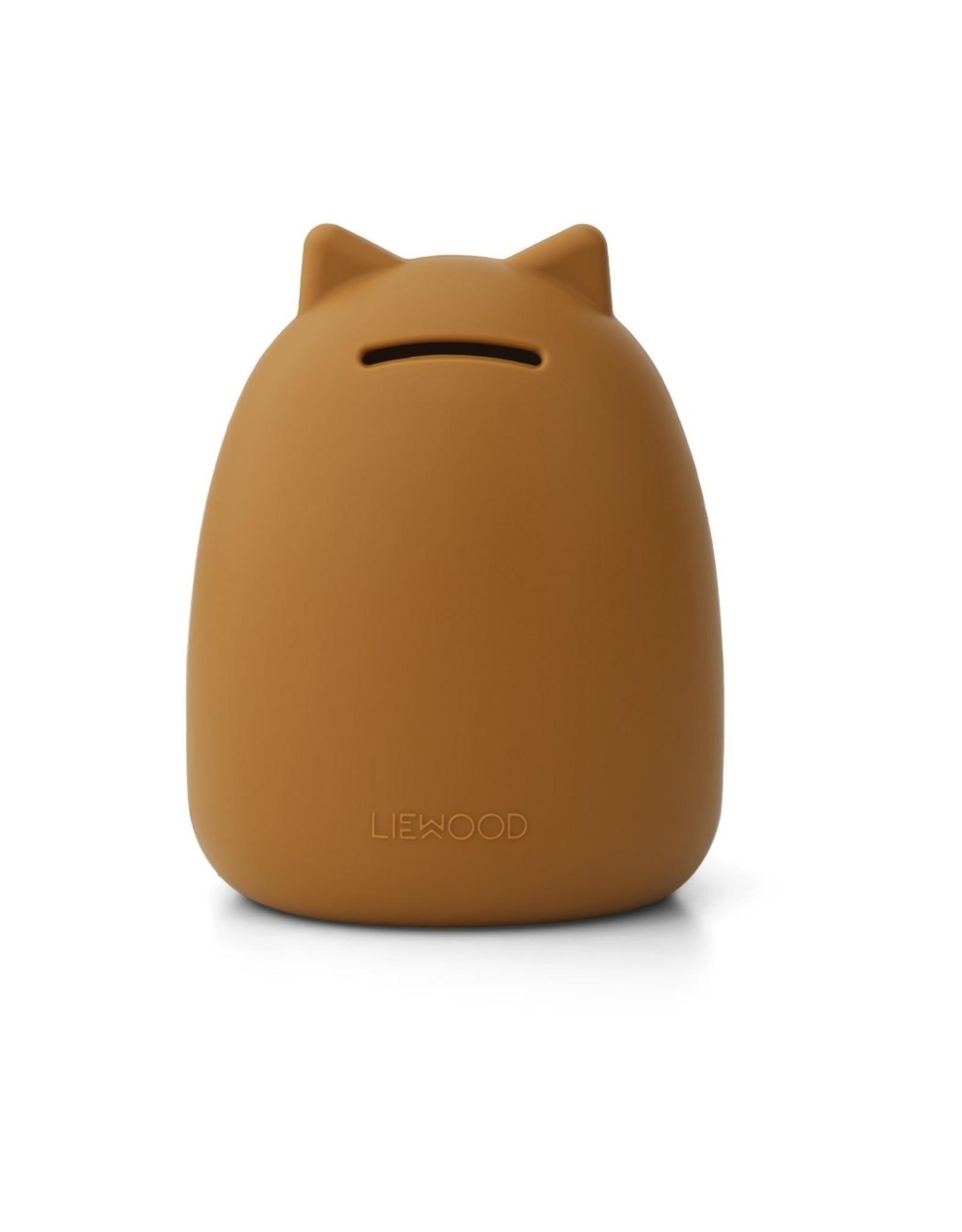 Liewood Palma Money Bank - Cat Mustard