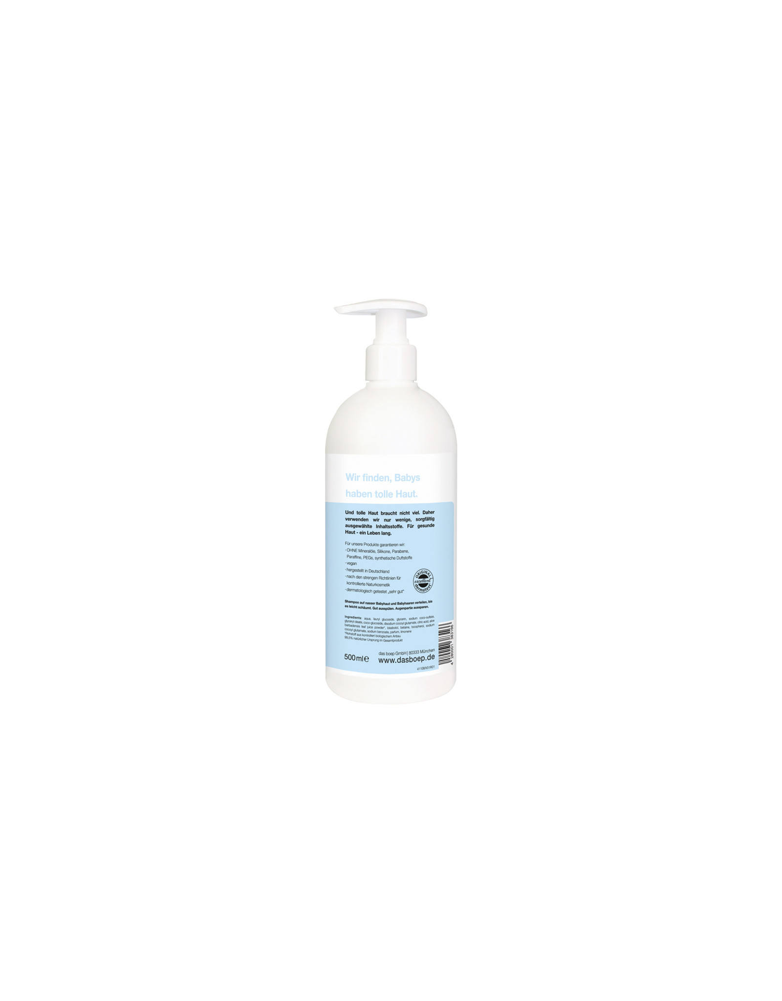 Boep Boep Baby Shampoo Bodywash 500ml