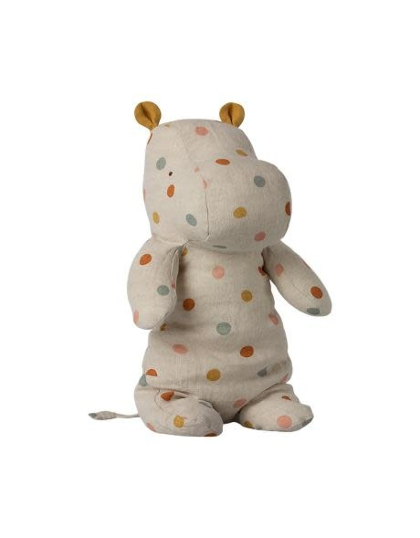 maileg Maileg Safari Friends, Medium Hippo - Multi Dot