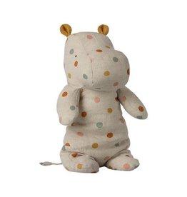 maileg Maileg Safari Friends, Medium Hippo - Multi Dot @
