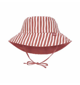 Lassig Lassig Sun Protection Bucket Hat Stripes Red