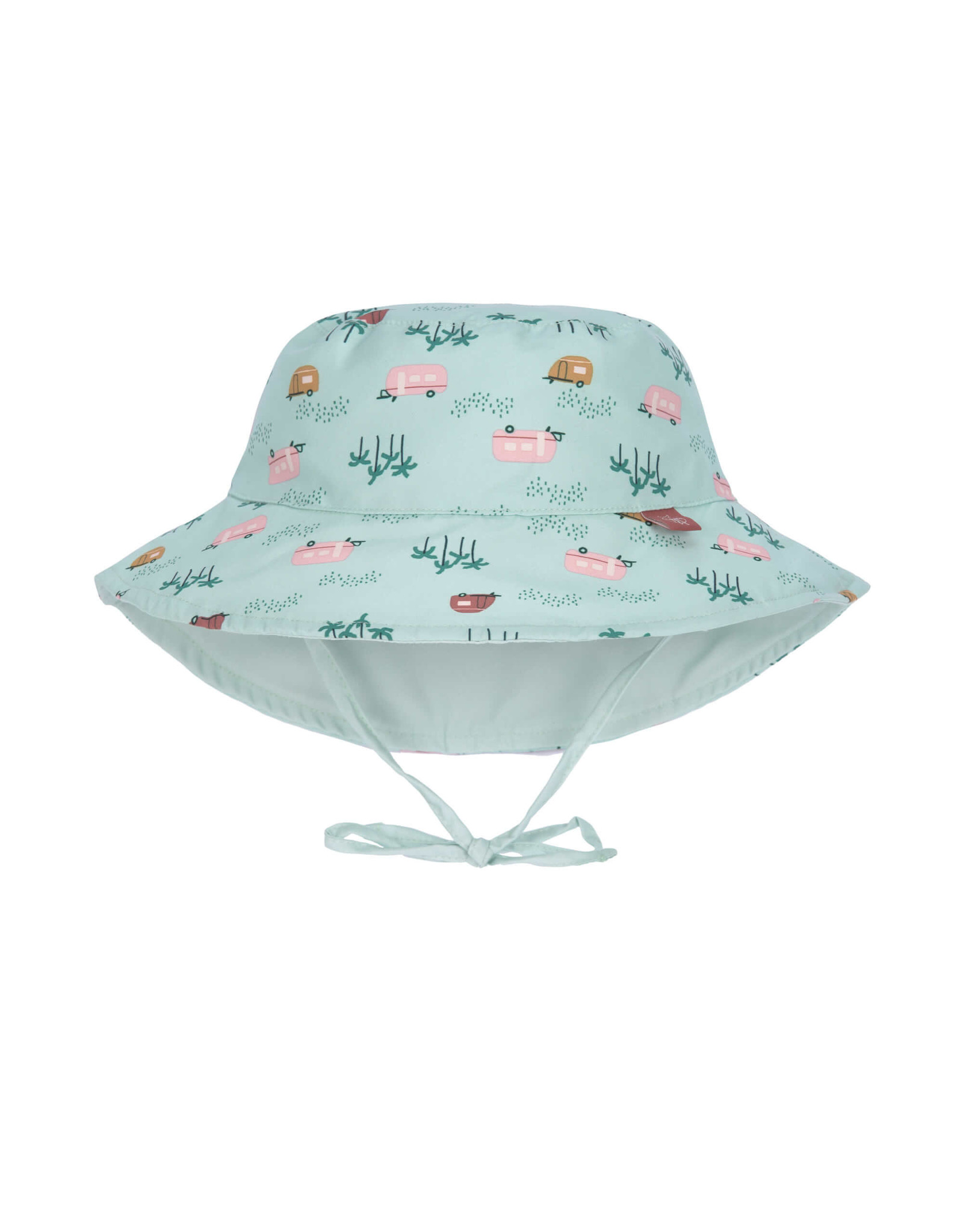 Lassig Lassig Sun Protection Bucket Hat Caravan Mint