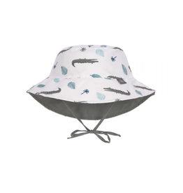 Lassig Lassig Sun Protection Bucket Hat Crocodile White