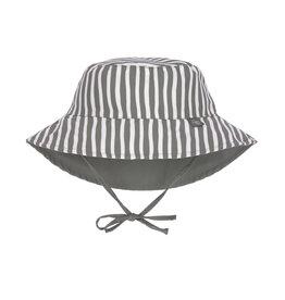 Lassig Lassig Sun Protection Bucket Hat Stripes Olive