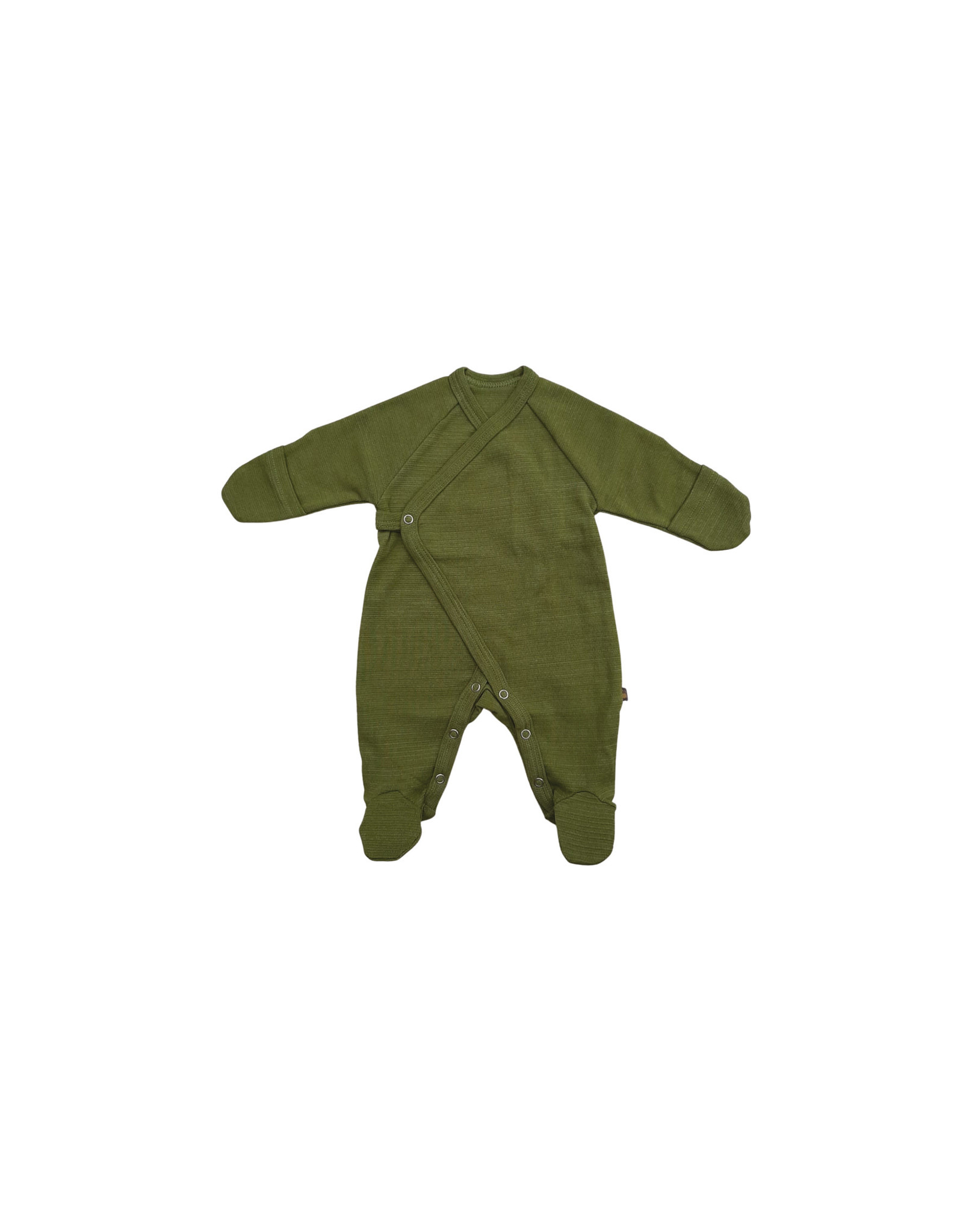 Forgaminnt Forgaminnt Pyjama met Voetjes (wrap) Guacamole 0-3m