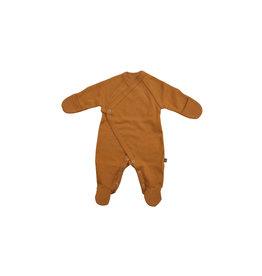Forgaminnt Forgaminnt Pyjama met Voetjes (wrap) Mustard Sunset 0-3m
