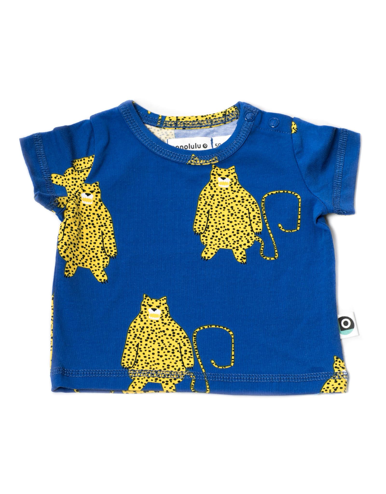 Onnolulu Onnolulu shirt Emi Leopard jersey cotton