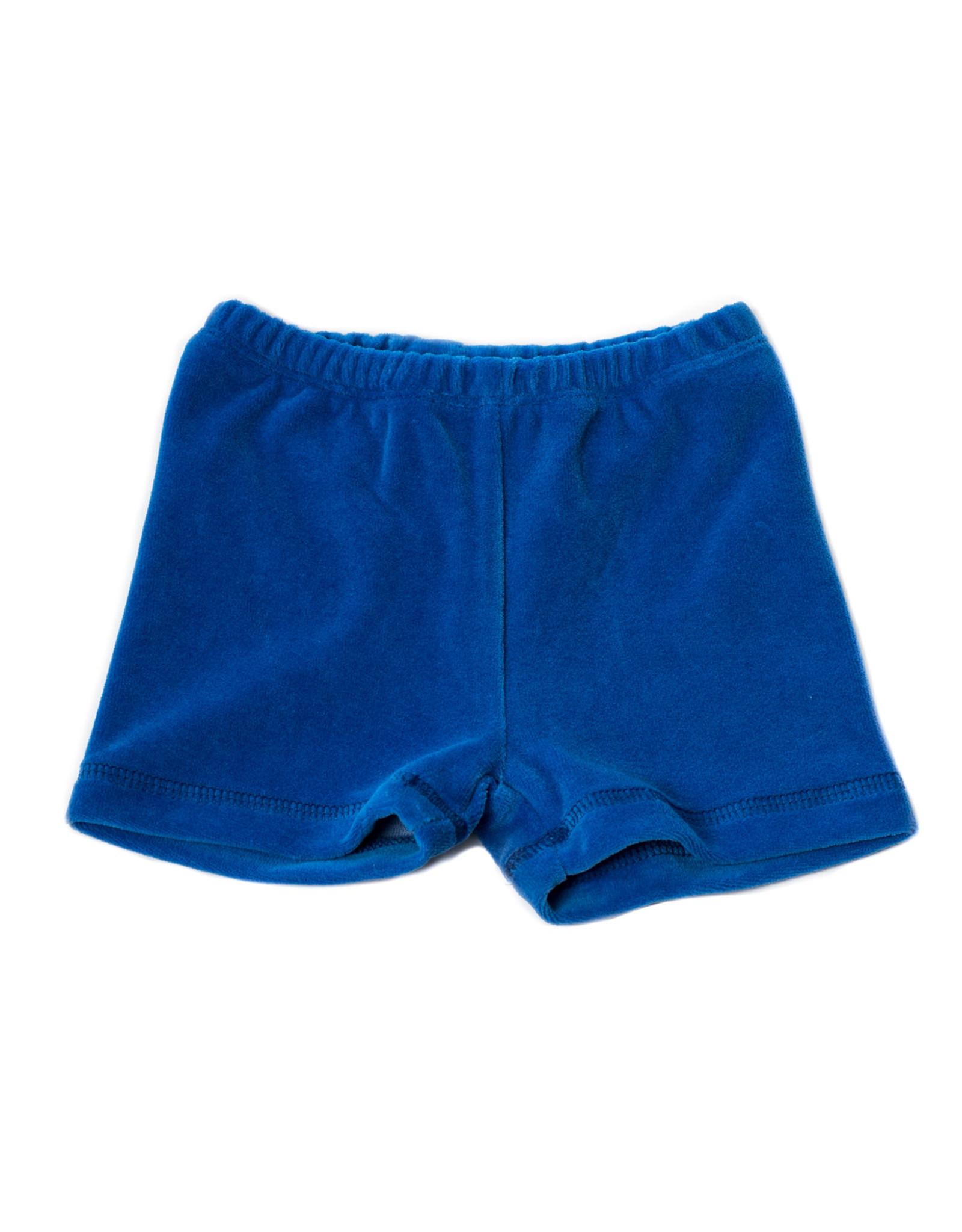 Onnolulu Onnolulu shorts Ben blue velour