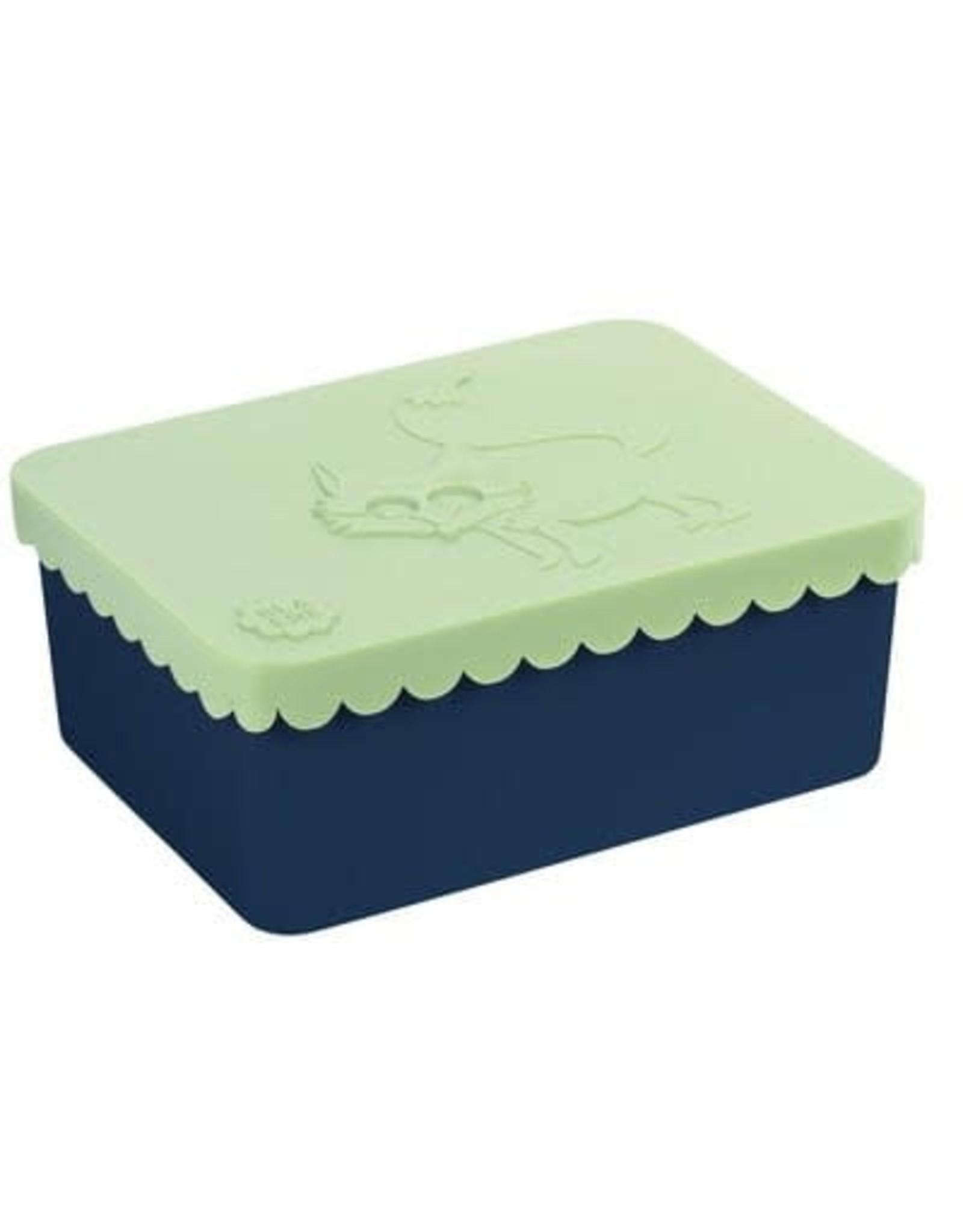 Blafre Blafre Lunch Box 1 comp Fox light green + navy