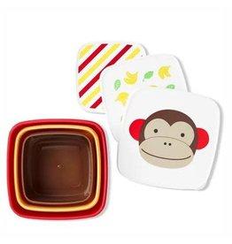 SkipHop SkipHop Zoo Snack Box Set - Monkey