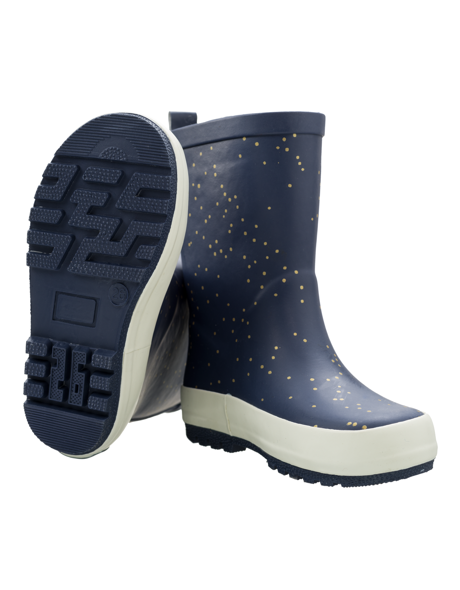 Fresk Fresk Rainboots Indigo Dots