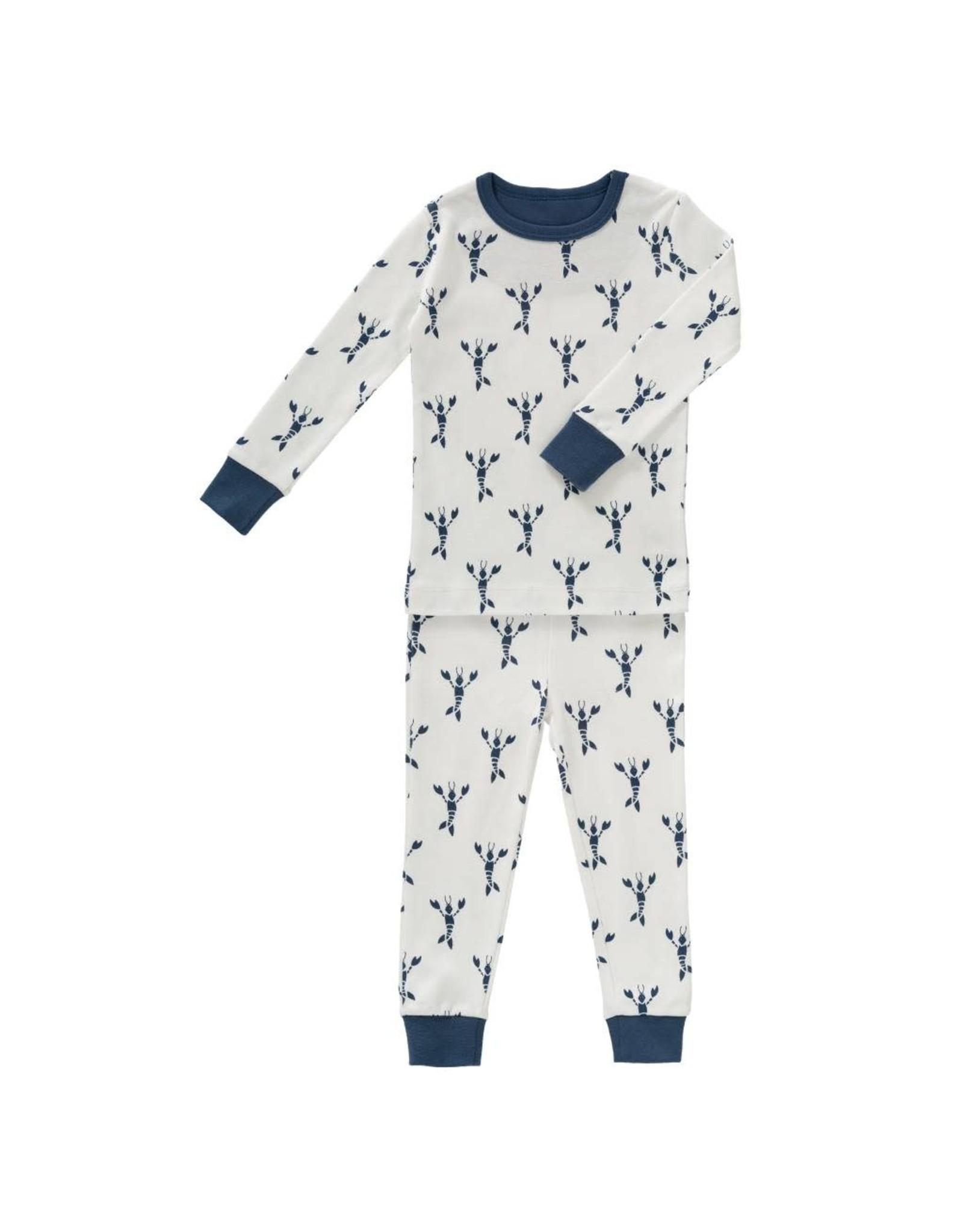Fresk Fresk 2-Delige Pyjama Lobster Indigo Blue