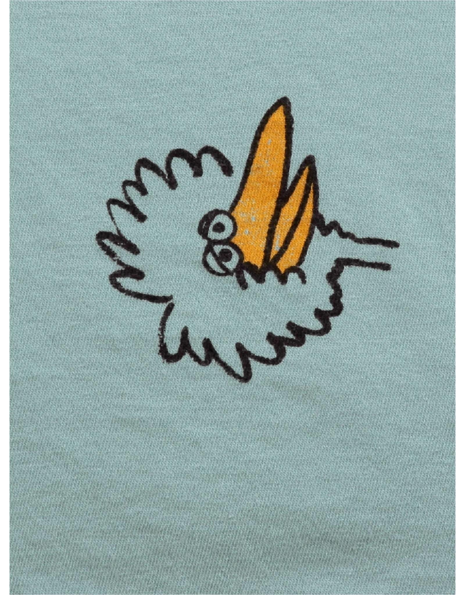 Bobo Choses Bobo Choses Birdie All Over Long Sleeve T-s @