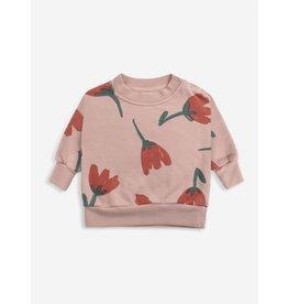 Bobo Choses Bobo Choses Big Flowers All Over Sweatshirt