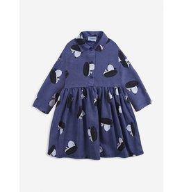 Bobo Choses Bobo Choses Boggie All Over Woven Button Dress