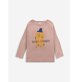 Bobo Choses Bobo Choses Dog In A Hat Long Sleeve T-Shirt
