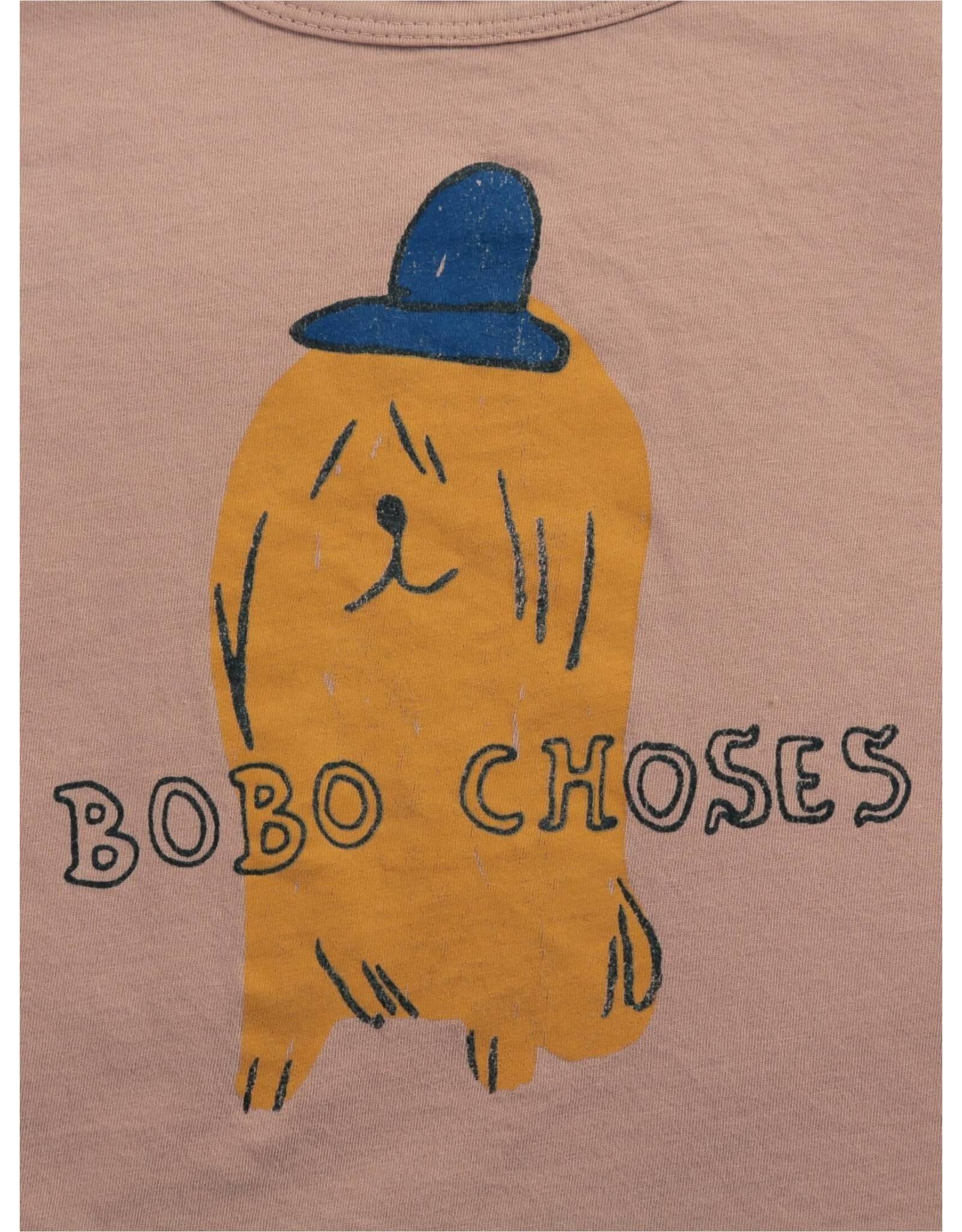 Bobo Choses Bobo Choses Dog In A Hat Long Sleeve T-Shirt @