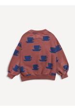 Bobo Choses Bobo Choses Cup Of Tea All Over Sweatshirt