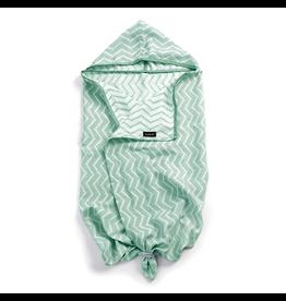 KipKep KipKep Blenker Hooded Towel - Calming Green