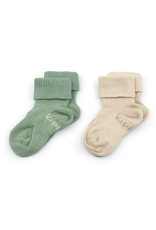 KipKep KipKep Bio Stay-on-Socks - Calming Green