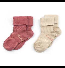 KipKep KipKep Bio Stay-On-Socks - Dusty Clay