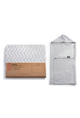 KipKep KipKep Blenker Hooded Towel - Silver Grey