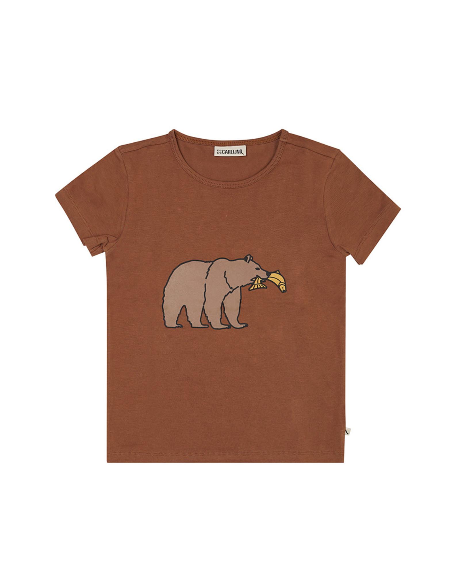 Carlijn Q Carlijn Q Grizzy - t-shirt WT Print