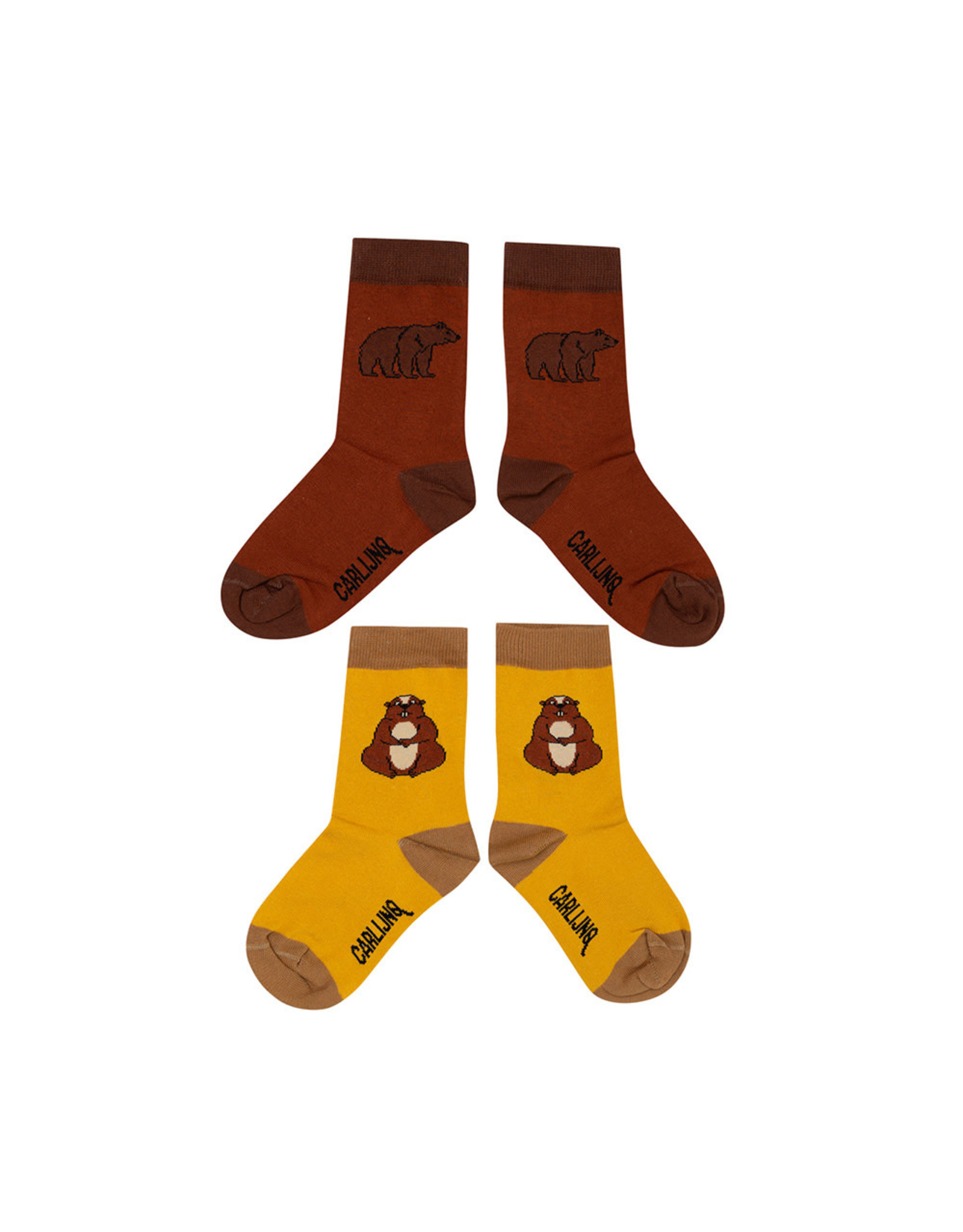Carlijn Q Carlijn Q Socks Set - Alpine Marmot & Grizzly