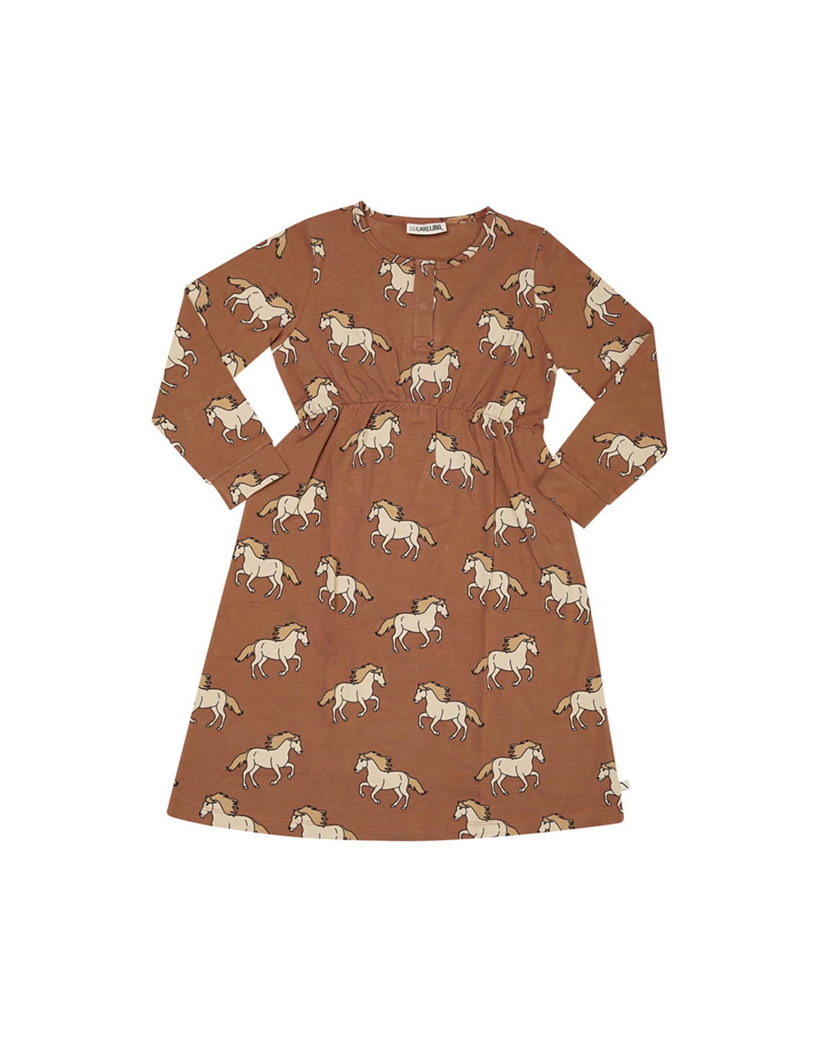 Carlijn Q Carlijn Q Wild Horse - 2 Button Dress