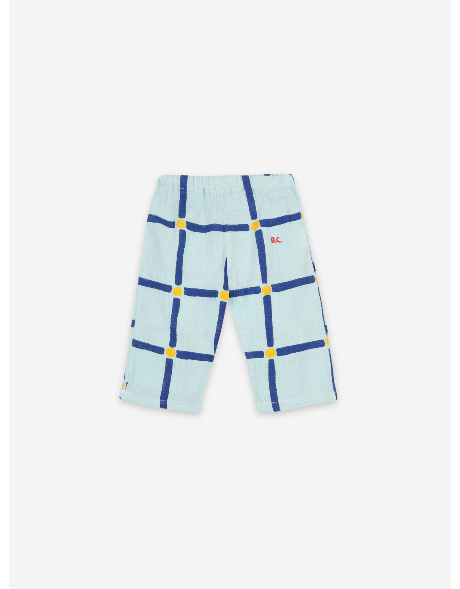 Bobo Choses Bobo Choses Cube All Over Woven Trousers