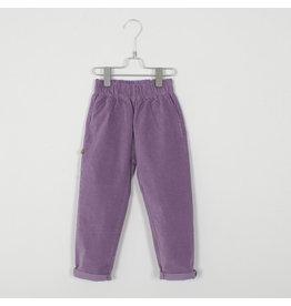 Lötiekids Lötiekids Velvet Trousers Lilac
