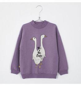 Lötiekids Lötiekids Sweatshirt Lilac MSS. & MR. Goose
