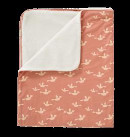 Fresk Fresk Blanket Katoen/Velours Birds