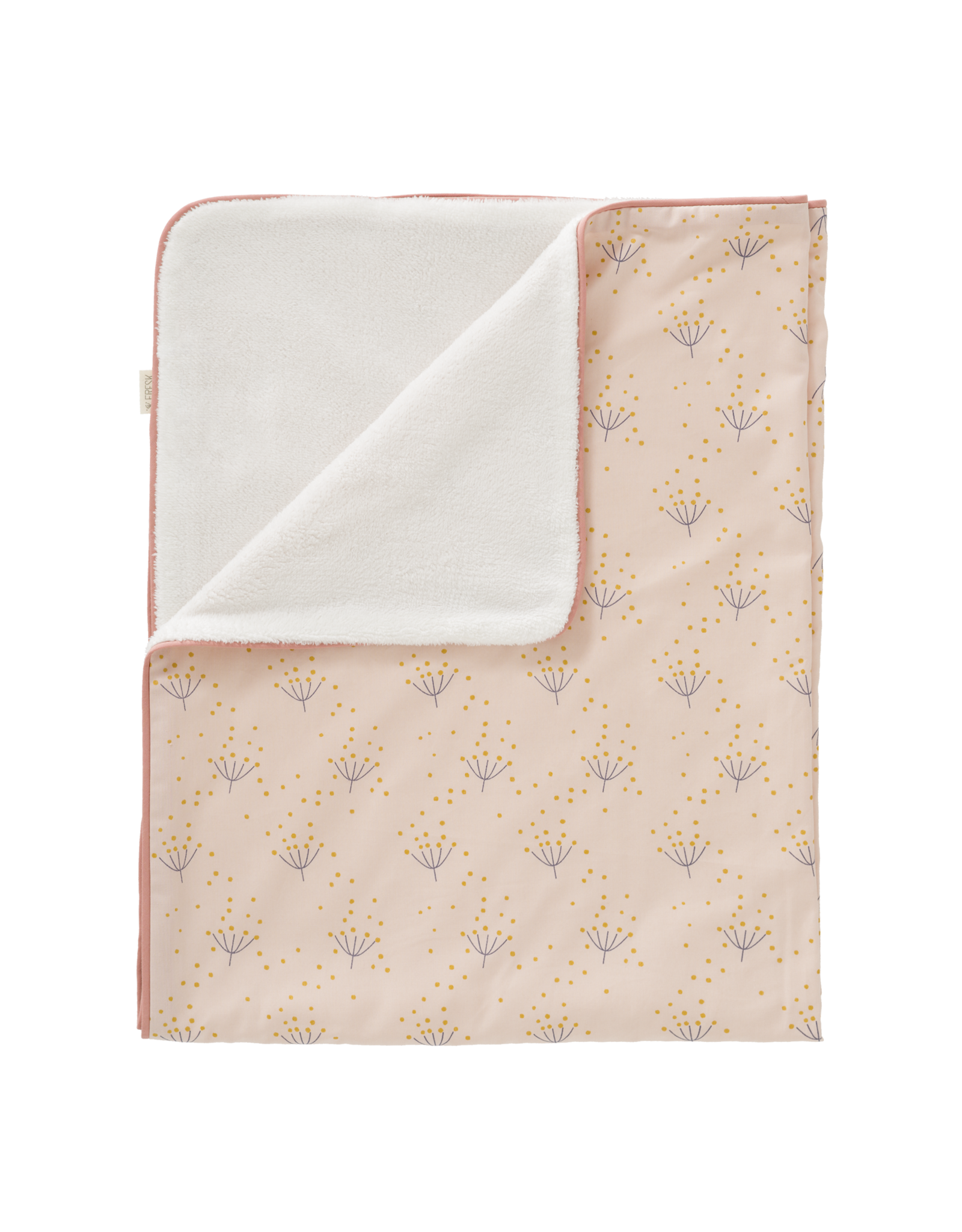 Fresk Fresk Blanket Katoen/Velours Dandelion