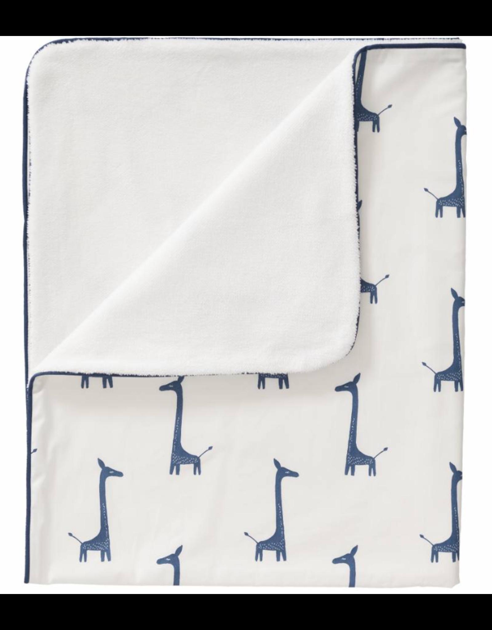 Fresk Fresk Blanket Katoen/Velours Giraf