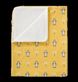 Fresk Fresk Blanket Katoen/Velours Pinguin