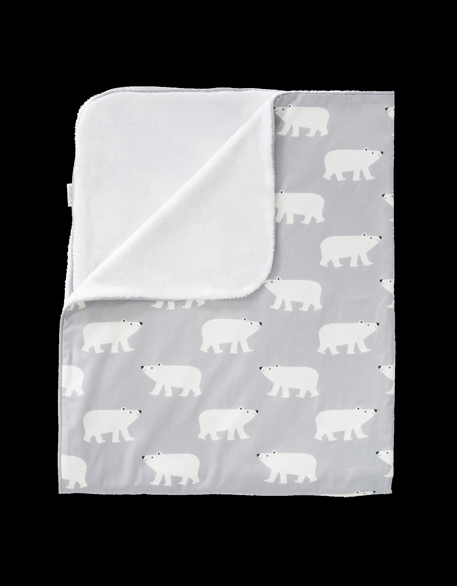 Fresk Fresk Blanket Katoen/Velours Polar Bear