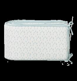 Fresk Fresk Baby Bed Bumper Raindrops Esther Blue (180cm)