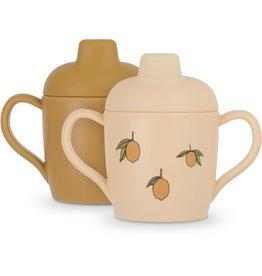 Konges Slojd Konges Slojd - 2 Pack Sippy Cup - Lemon