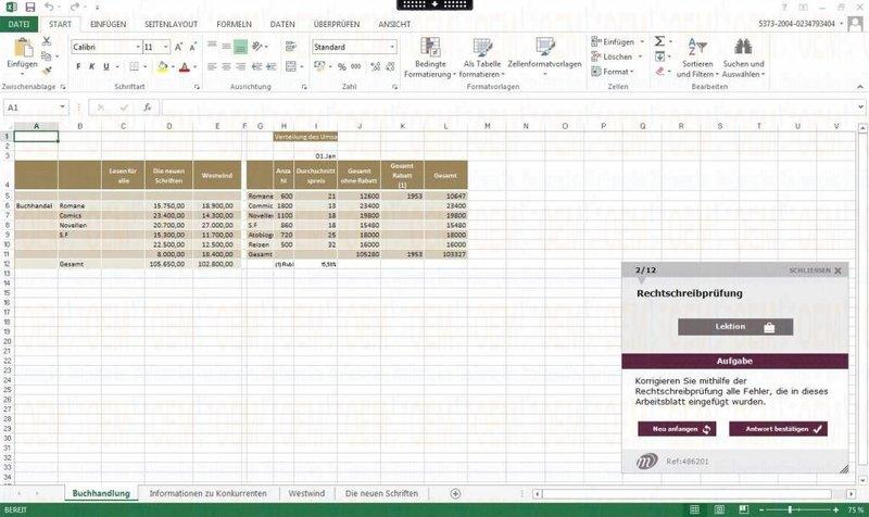 E-Learning Excel 2010 Kurs Fortgeschrittene