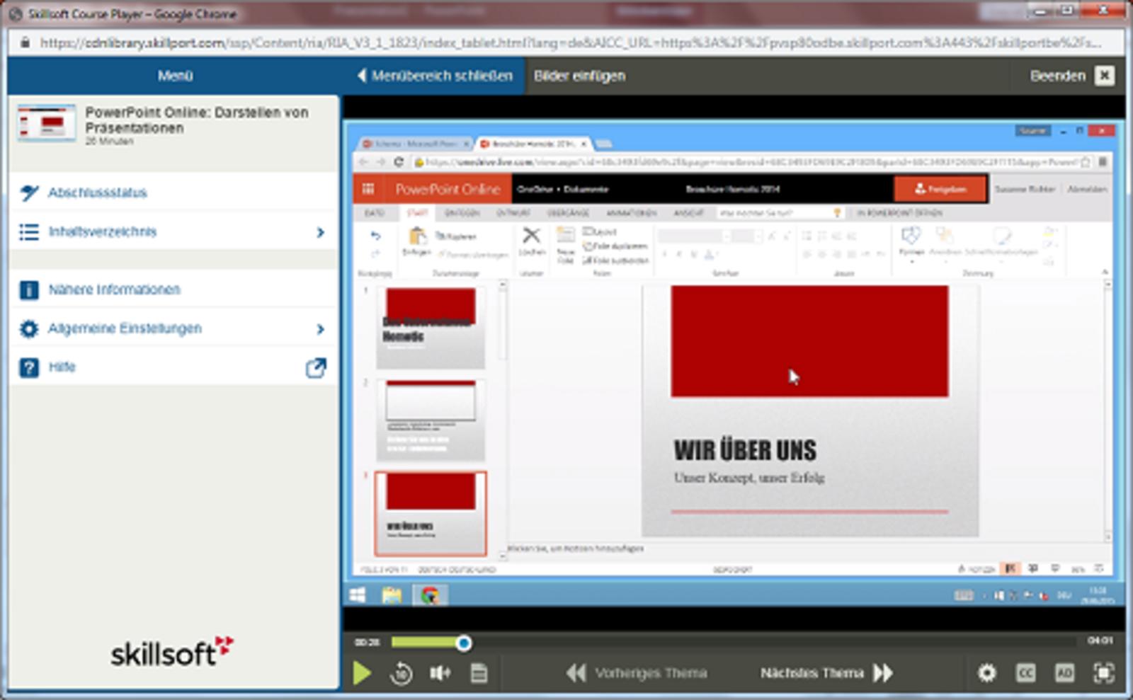 Microsoft PowerPoint PowerPoint Online E-Learning Kurs