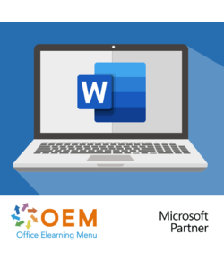 Office 365 Word Online E-learning