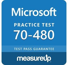 MeasureUp 70-480 Programming in HTML5 with JavaScript and CSS3 Proefexamen