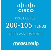 MeasureUp CISCO 200-105: Interconnecting Cisco Networking Devices Part 2 v.3.0 (ICND2) Proefexamen